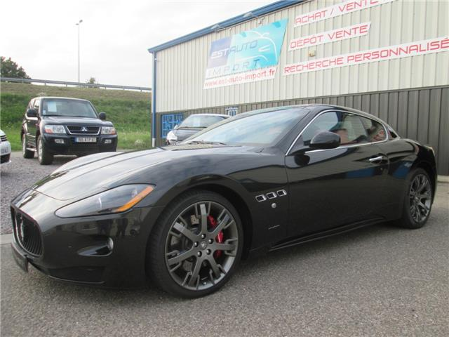 maserati granturismo granturismo s 4 7 v8 4900 km. Black Bedroom Furniture Sets. Home Design Ideas