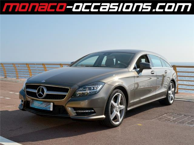mercedes benz cls shooting brake 350 cdi 4 matic 7g tronic occasion monaco. Black Bedroom Furniture Sets. Home Design Ideas