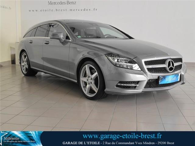 mercedes benz cls shooting brake 350 cdi 7g tronic occasion brest. Black Bedroom Furniture Sets. Home Design Ideas