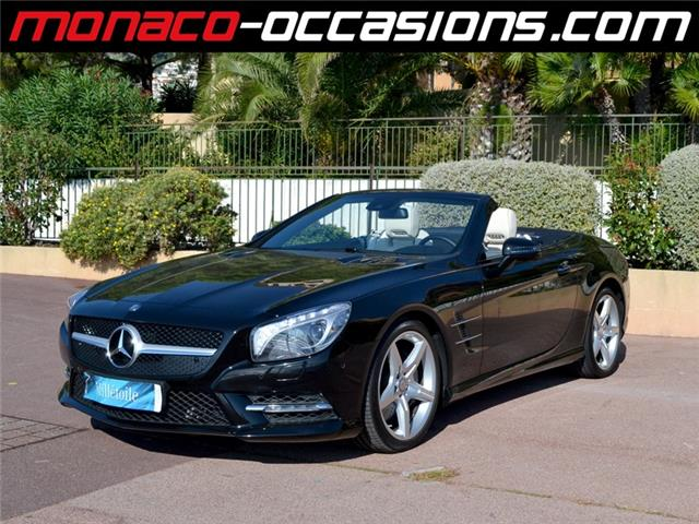 Mercedes benz sl 500 7g tronic occasion monaco for Garage mercedes monaco