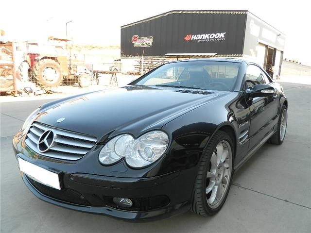 mercedes benz sl 55 amg 500 ch v8 kompressor roadster. Black Bedroom Furniture Sets. Home Design Ideas