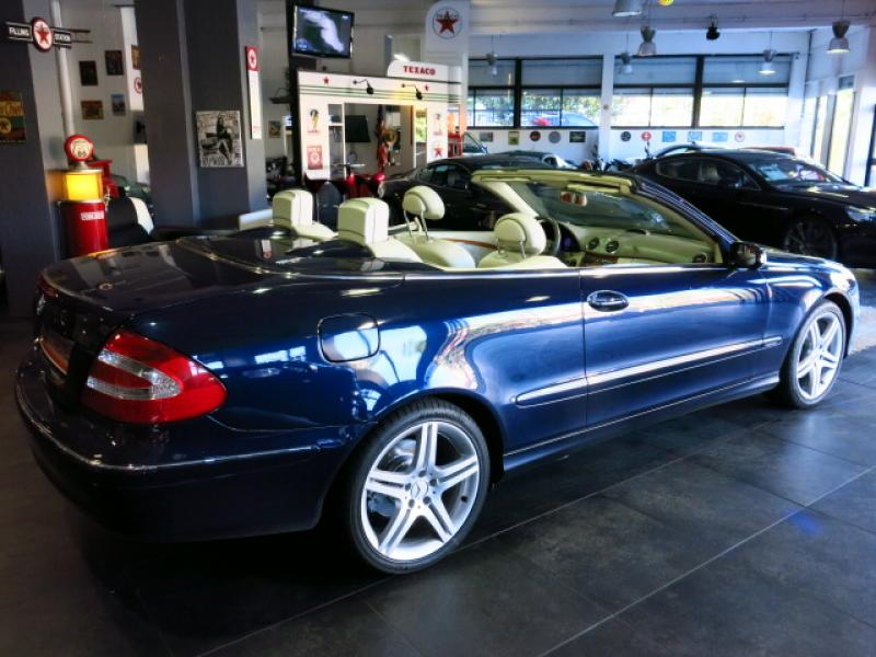 mercedes clk cabriolet cabriolet 200k elegance bva 2003. Black Bedroom Furniture Sets. Home Design Ideas