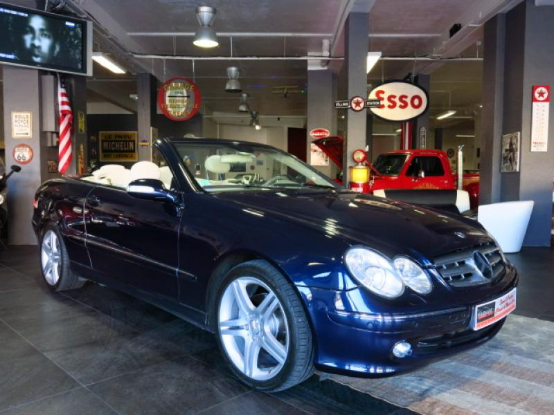 mercedes clk cabriolet cabriolet 200k elegance bva 2003 occasion alpes maritimes 06. Black Bedroom Furniture Sets. Home Design Ideas