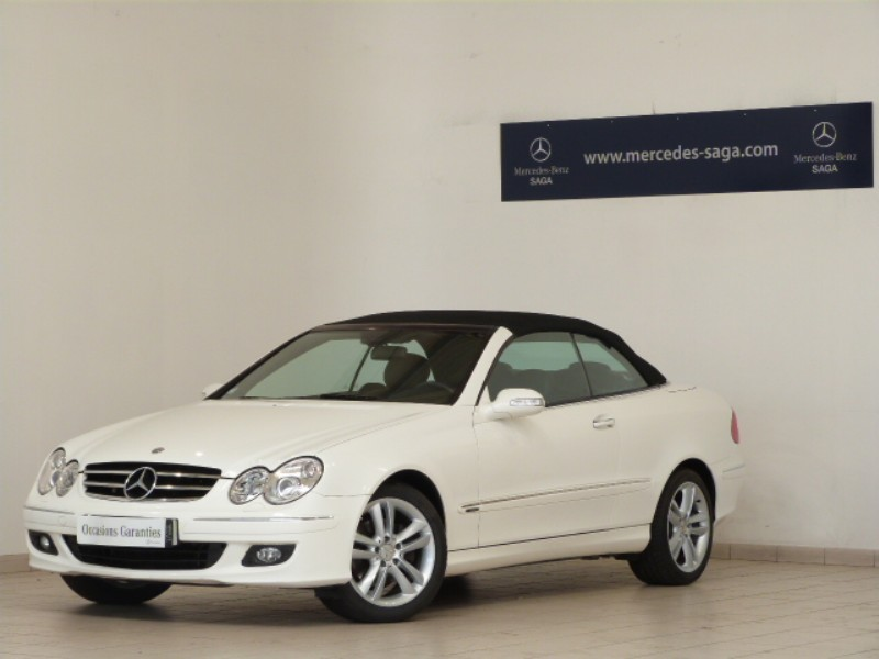 mercedes clk classe cabriolet 280 avantgarde 2006 occasion vendee 85. Black Bedroom Furniture Sets. Home Design Ideas