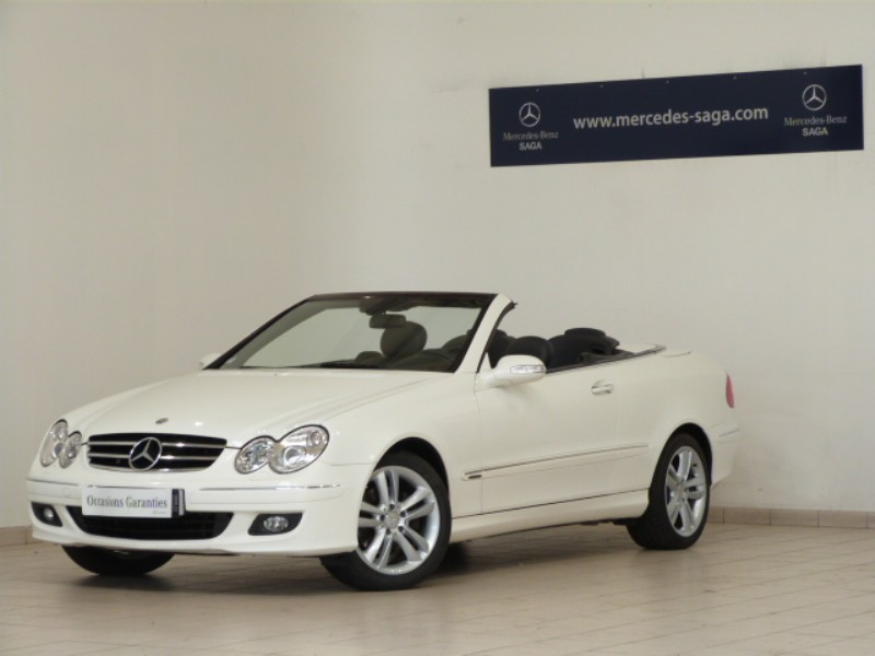 mercedes clk classe cabriolet 280 avantgarde 2006 occasion. Black Bedroom Furniture Sets. Home Design Ideas