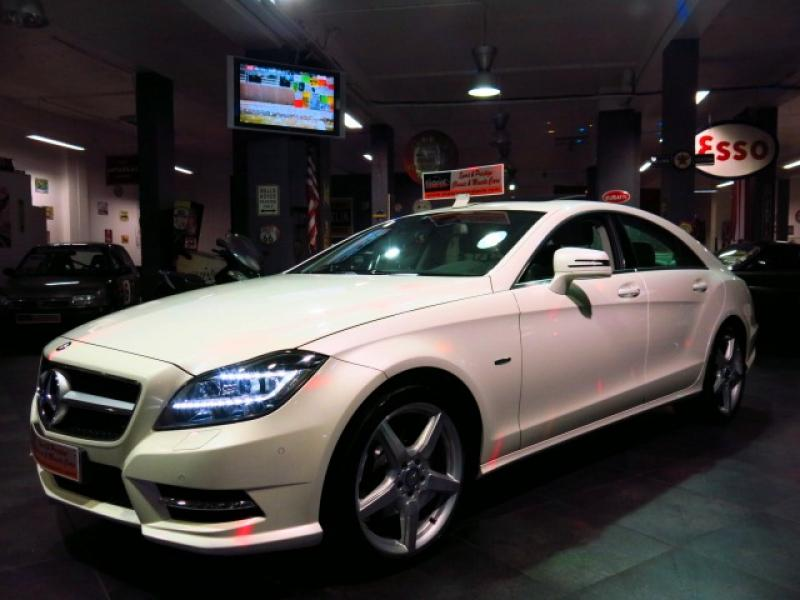 mercedes cls classe 350 cdi be pack amg 2012 occasion alpes maritimes 06. Black Bedroom Furniture Sets. Home Design Ideas
