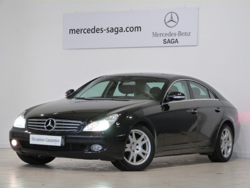 mercedes cls 320 cdi occasion. Black Bedroom Furniture Sets. Home Design Ideas