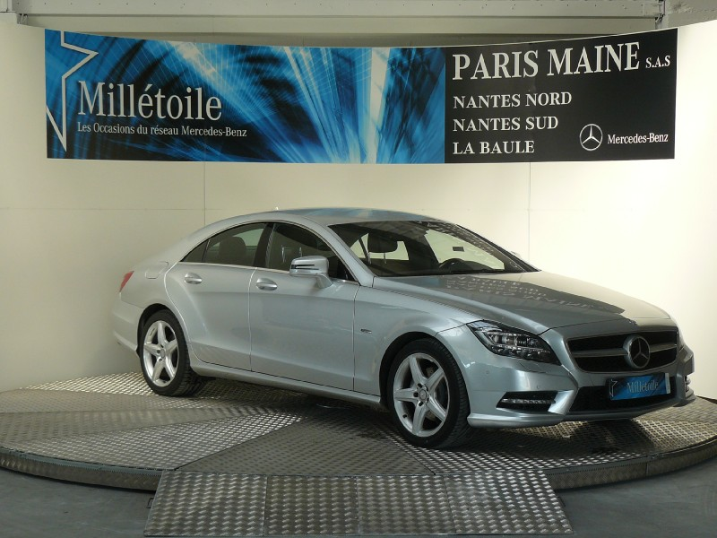 mercedes cls classe 350 cdi 2011 occasion loire atlantique 44. Black Bedroom Furniture Sets. Home Design Ideas