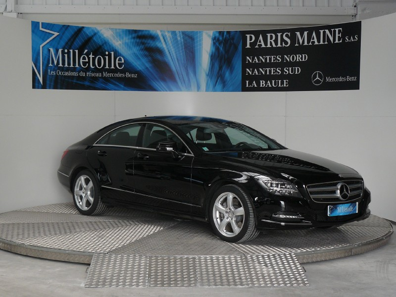 mercedes cls classe 350 cdi 2013 occasion loire atlantique 44. Black Bedroom Furniture Sets. Home Design Ideas