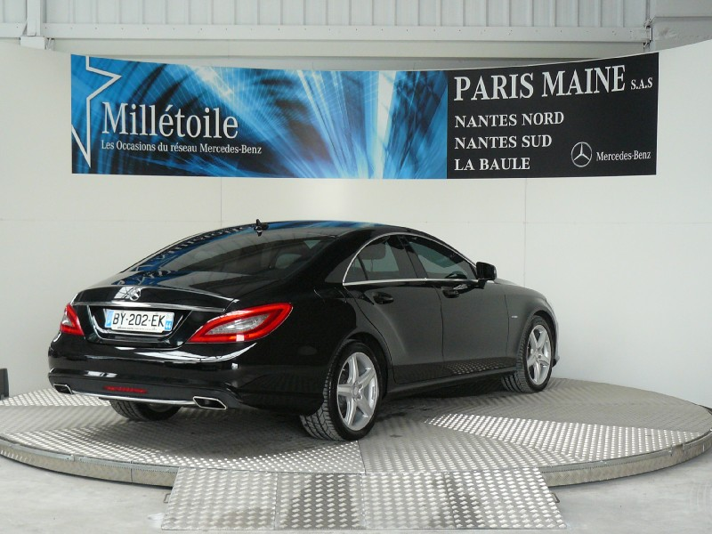mercedes cls classe 350 cdi 4matic 2011 occasion loire atlantique 44. Black Bedroom Furniture Sets. Home Design Ideas