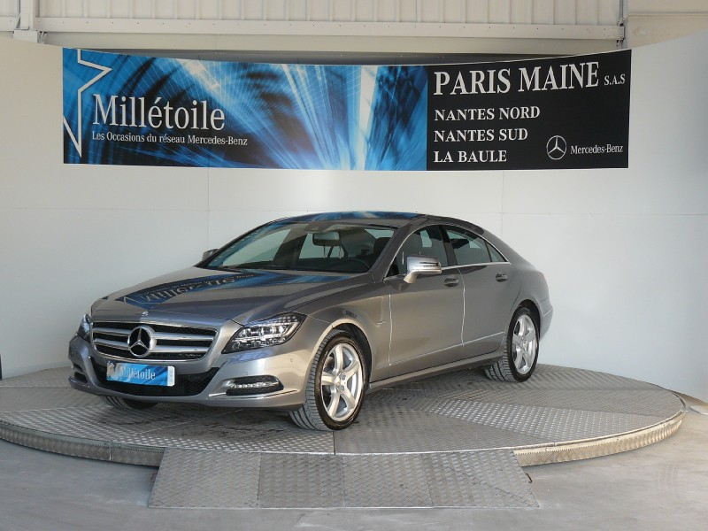 mercedes cls classe 350 cdi 4matic 2012 occasion loire atlantique 44. Black Bedroom Furniture Sets. Home Design Ideas