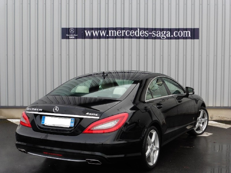mercedes cls classe 350 cdi 4matic 2014 occasion nord 59. Black Bedroom Furniture Sets. Home Design Ideas