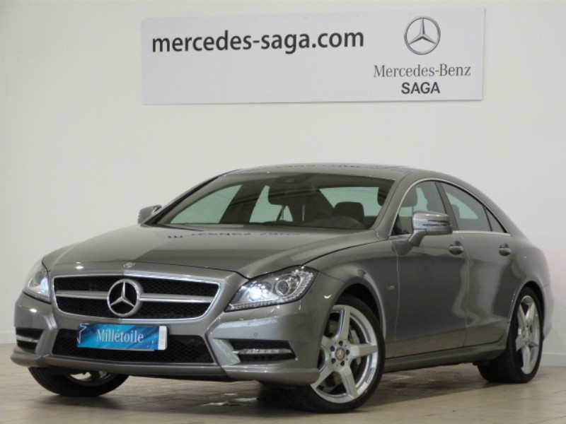 mercedes cls classe 500 amg 2011 occasion vendee 85. Black Bedroom Furniture Sets. Home Design Ideas