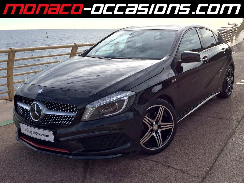 Mercedes classe a 250 version sport 7g dct 2013 occasion for Garage mercedes monaco