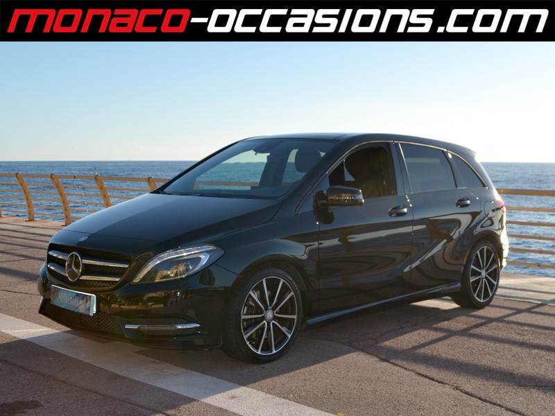 Mercedes classe b b 220 cdi fascination 7g dct 2013 for Garage mercedes monaco