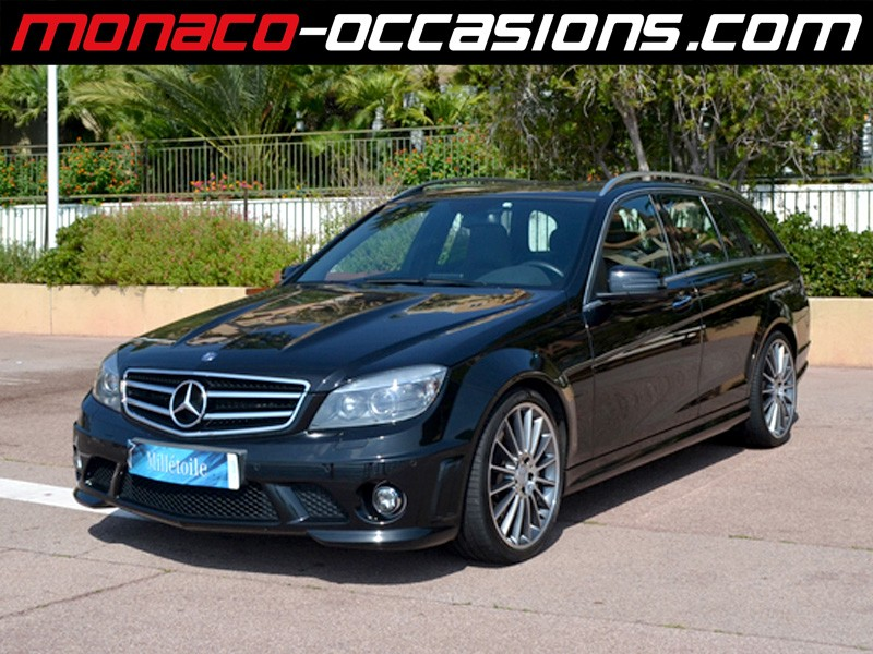 Mercedes classe c c break 63 amg 2009 occasion monaco 98 for Garage mercedes monaco