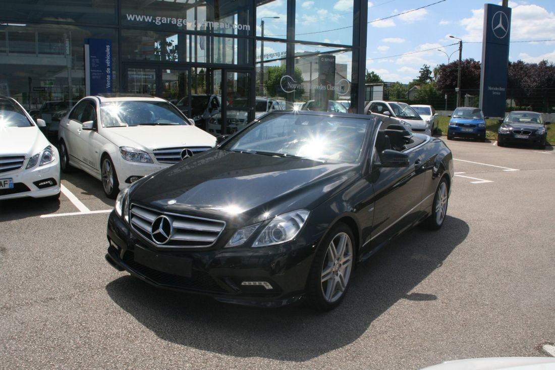 mercedes classe e 350 cdi blue efficiency pack amg 2010. Black Bedroom Furniture Sets. Home Design Ideas