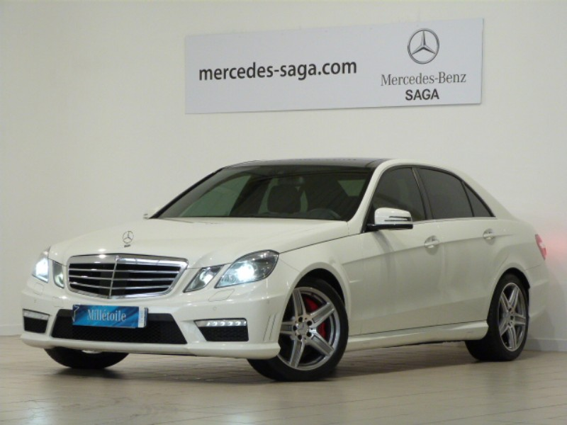 mercedes classe e 63 amg 2011 occasion vendee 85. Black Bedroom Furniture Sets. Home Design Ideas