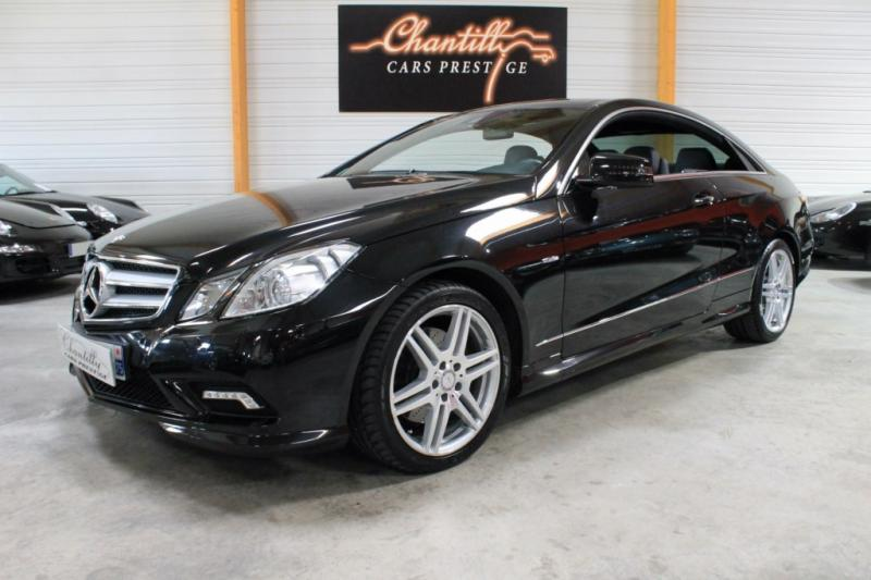 mercedes classe e coupe 350 cdi blueefficiency executive 7g tronic 2010 occasion val d oise 95. Black Bedroom Furniture Sets. Home Design Ideas