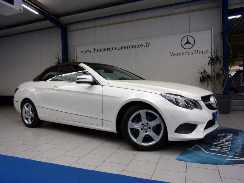 mercedes classe e cabriolet 220 cdi executive 7gtronic. Black Bedroom Furniture Sets. Home Design Ideas