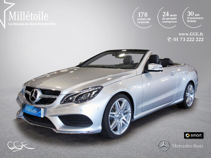 mercedes classe e cabriolet 350 bluetec fascination 7gtronic 2014 occasion essonne 91. Black Bedroom Furniture Sets. Home Design Ideas