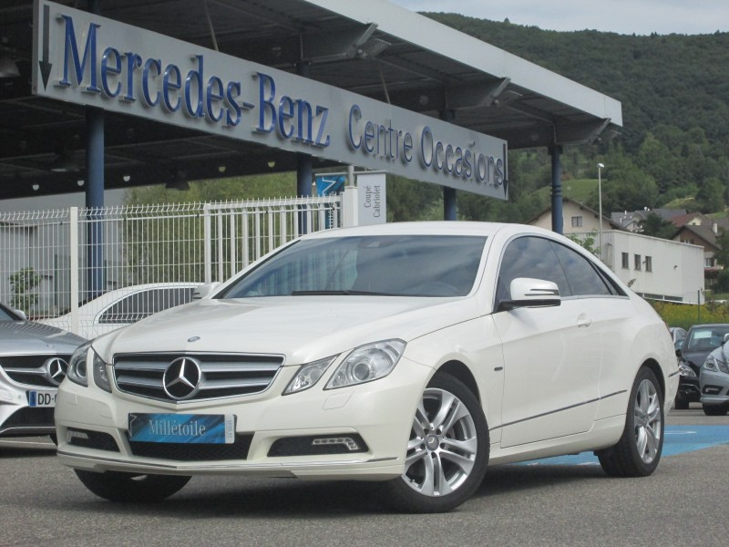 mercedes classe e coupe 220 cdi be executive 2010 occasion haute savoie 74. Black Bedroom Furniture Sets. Home Design Ideas