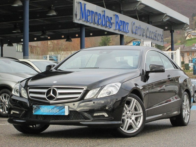 Mercedes classe e coupe 350 cdi be executive 7gtro 2012 occasion haute savoie 74 - Mercedes classe e coupe 350 cdi ...