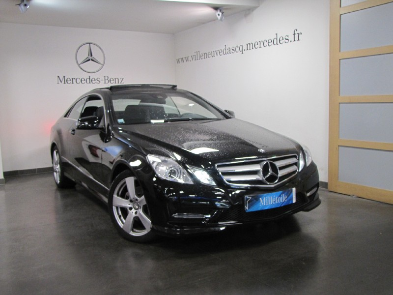 Mercedes classe e coupe 350 cdi be executive 7gtro 2013 occasion nord 59 - Mercedes classe e coupe 350 cdi ...