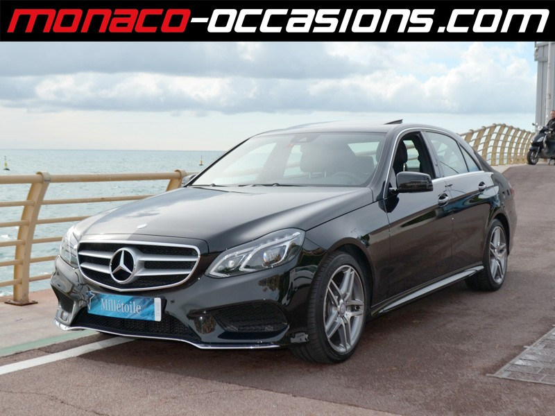 mercedes classe e e 350 bluetec 4matic 7g tronic 2013 occasion monaco 98. Black Bedroom Furniture Sets. Home Design Ideas