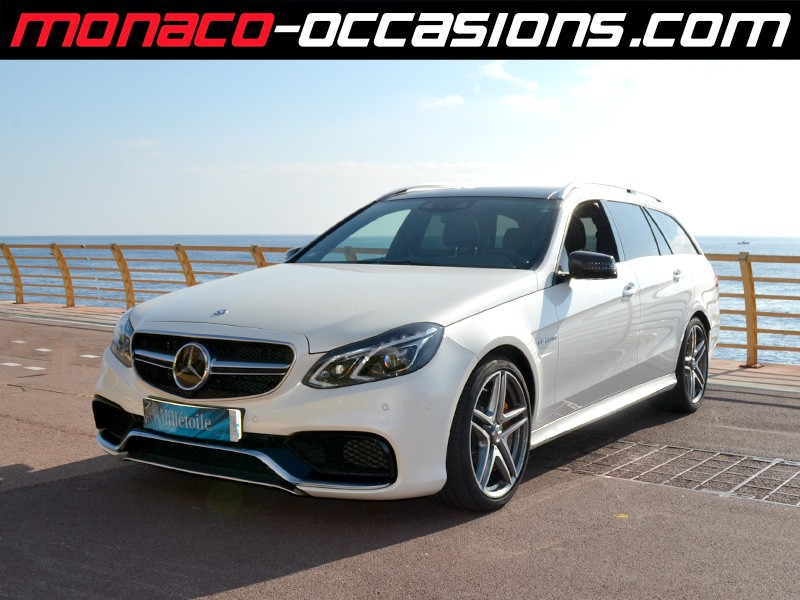 mercedes classe e e break 63 amg s 4matic 2013 occasion. Black Bedroom Furniture Sets. Home Design Ideas