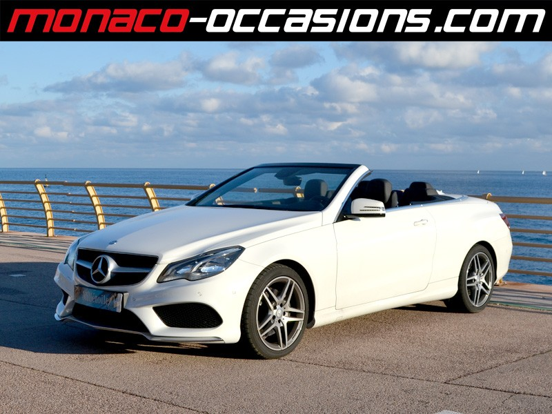 mercedes classe e e cabriolet 250 cdi sportline 7gtronic 2014 occasion monaco 98. Black Bedroom Furniture Sets. Home Design Ideas