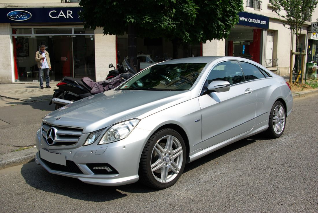 Mercedes classe e iv coupe 350 cdi blueefficiency executive ba7 7g tronic occasion paris 75 - Mercedes classe e coupe 350 cdi ...