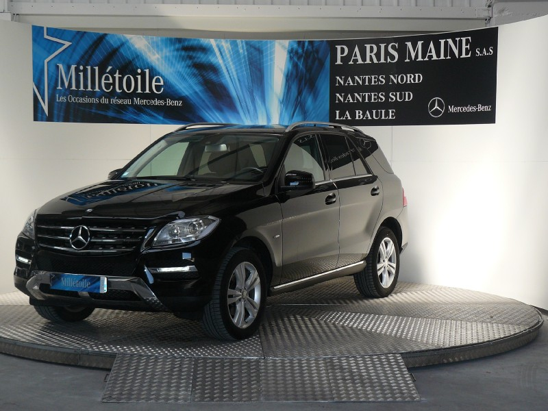 mercedes classe ml 350 bluetec sport 7g tronic 2012 occasion loire atlantique 44. Black Bedroom Furniture Sets. Home Design Ideas
