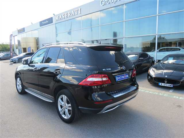mercedes classe ml ml 350 bluetec 4matic sport a 2013 occasion herault 34. Black Bedroom Furniture Sets. Home Design Ideas