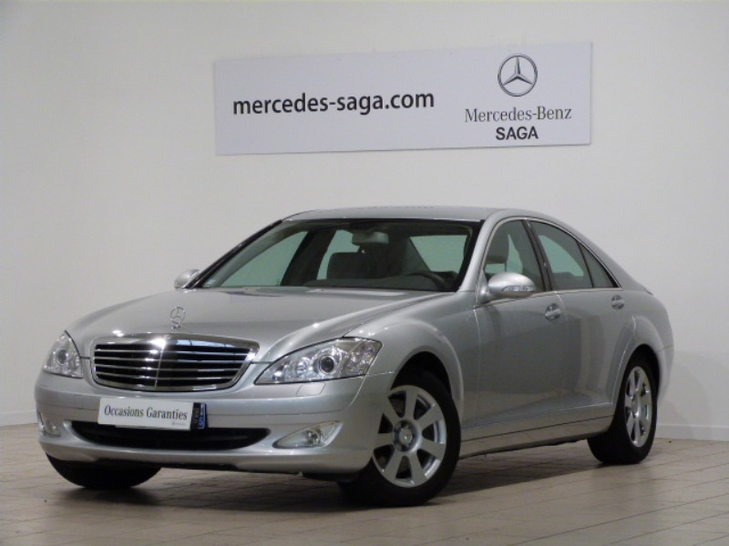 mercedes classe s 320 cdi 4 matic 7gtro 2008 occasion vendee 85. Black Bedroom Furniture Sets. Home Design Ideas