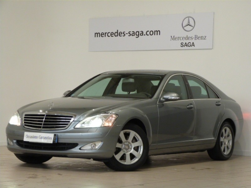 mercedes classe s 320 cdi 7gtro 2008 occasion vendee 85. Black Bedroom Furniture Sets. Home Design Ideas