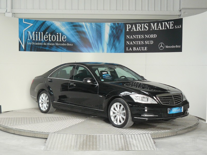 mercedes classe s 350 bluetec 2012 occasion loire atlantique 44. Black Bedroom Furniture Sets. Home Design Ideas
