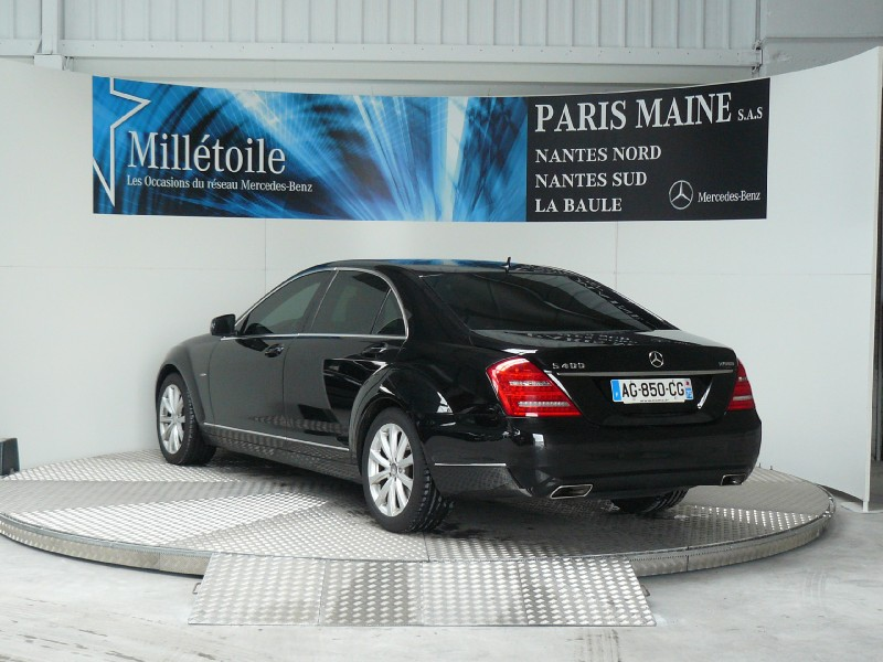 mercedes classe s 400 hybrid l 2009 occasion loire atlantique 44. Black Bedroom Furniture Sets. Home Design Ideas