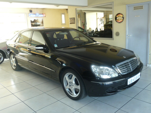 mercedes classe s 600 l v12 biturbo 2002 occasion pyrenees orientales 66. Black Bedroom Furniture Sets. Home Design Ideas
