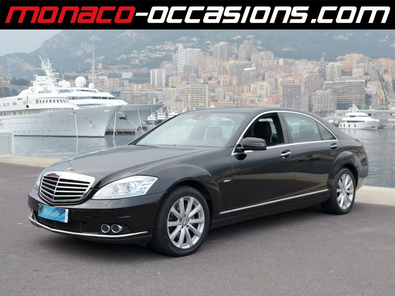 mercedes classe s s 350 bluetec 2011 occasion monaco 98. Black Bedroom Furniture Sets. Home Design Ideas