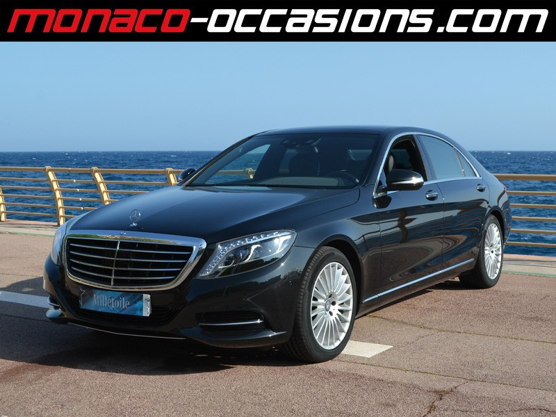 mercedes classe s s 350 bluetec executive l 7g tronic plus 2014 occasion monaco 98. Black Bedroom Furniture Sets. Home Design Ideas