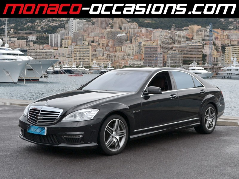 Mercedes classe s s 63 amg speedshift l 2011 occasion for Garage mercedes monaco
