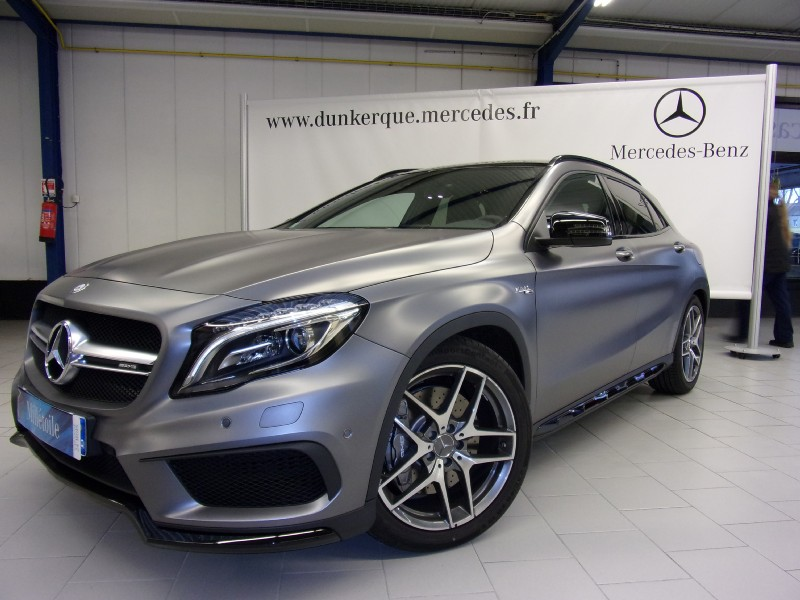 mercedes gla classe 45 amg 4matic 7g dct 2014 occasion nord 59. Black Bedroom Furniture Sets. Home Design Ideas