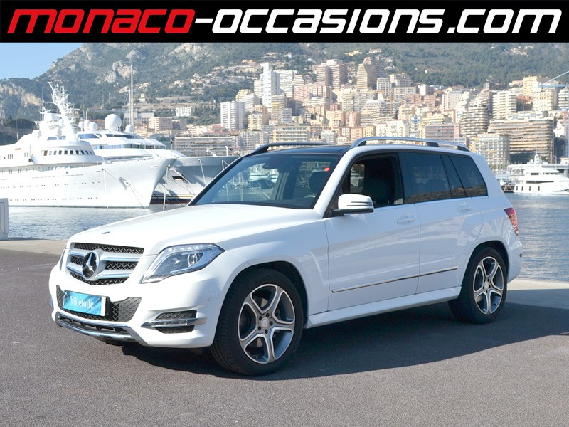 Mercedes glk 220 cdi sport 4matic 7gtronic 2013 occasion for Garage mercedes monaco