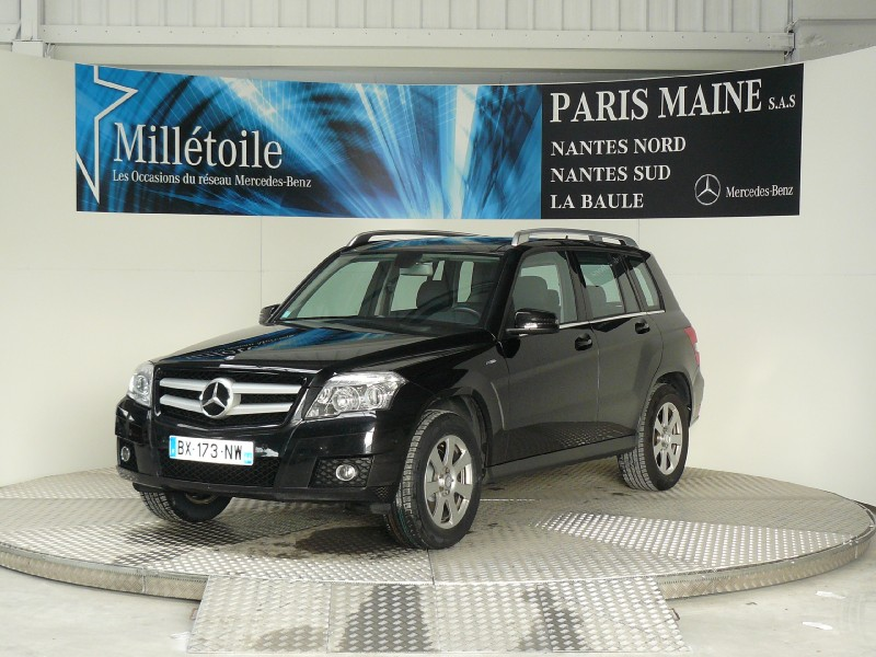 mercedes glk classe 220 cdi be 7gtro 2011 occasion loire atlantique 44. Black Bedroom Furniture Sets. Home Design Ideas