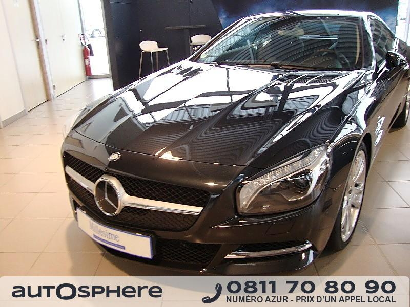 mercedes sl 350 7g tro 2014 occasion vienne 86. Black Bedroom Furniture Sets. Home Design Ideas