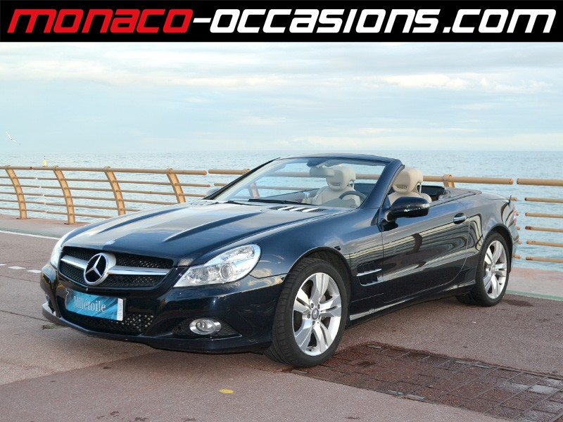 Mercedes sl 500 7gtro 2010 occasion monaco 98 for Garage mercedes monaco