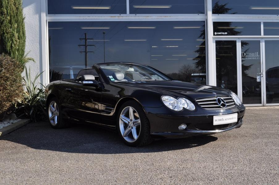 mercedes sl classe r230 350 roadster ba 2005 occasion lot et garonne 47. Black Bedroom Furniture Sets. Home Design Ideas