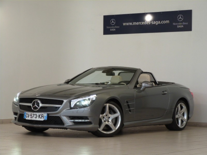 mercedes sl classe 500 7g tronic 2013 occasion vendee 85. Black Bedroom Furniture Sets. Home Design Ideas