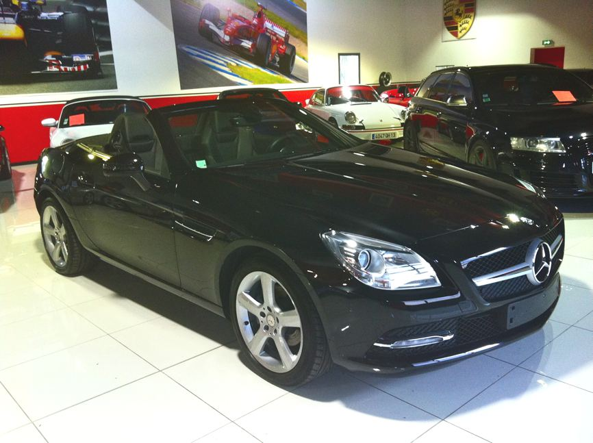 mercedes slk 200 blueefficiency occasion var 83. Black Bedroom Furniture Sets. Home Design Ideas